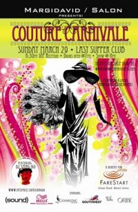 Couture carnivale poster