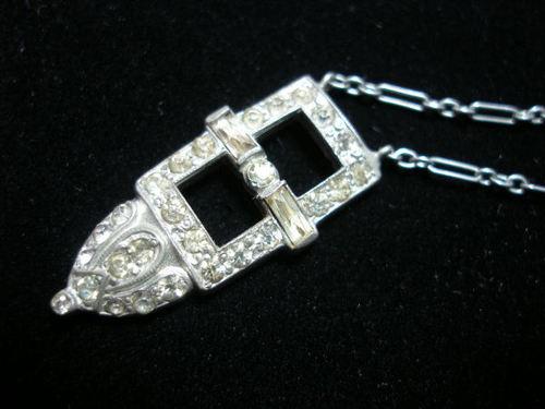 Potmetal necklace