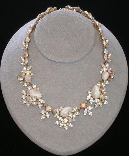 Trifari Moonstone Necklace