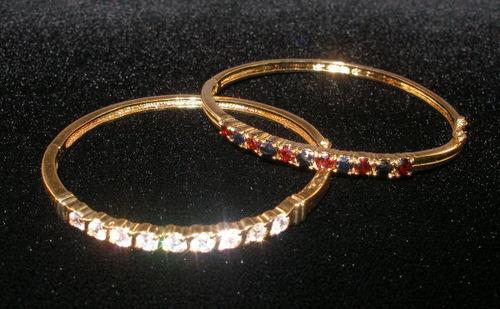 Stone Clamper Bracelets