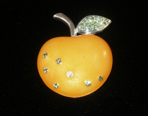 Golden Apple Pin