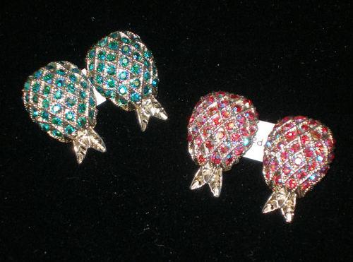Weiss Pineapple Earrings